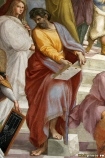 Parmenides, greek philosopher. From ''School of Athens'' by Raffaello Sanzio.