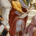 Parmenides, greek philosopher. From ''School of Athens'' by Raffaello Sanzio.