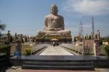 Great Buddha Statue, located in Bodh Gaya in Northeastern India